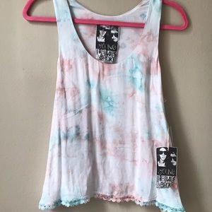 BNWT YOUNG FABULOUS & BROKE swing tank